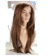 P5: Cheveux châtains longs et lisses