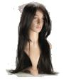 P4: Cheveux bruns longs et lisses