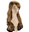 P11: Cheveux châtains, longs et ondulés